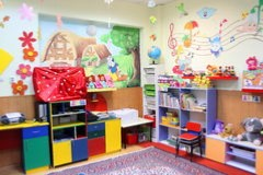 Preschool room web